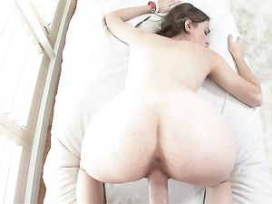 Adorable Skinny Girl Gobbles Knob And Gets Laid