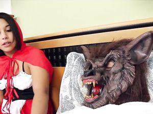 Big Bad Wolf Fucks Slutty Costume Teen In Her Cunt