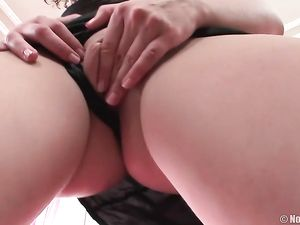 Beautiful Curly Hair Teenager Blows Him Before Anal Sex