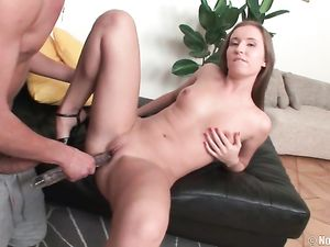 Cute Teen Whore Fucked In Her Smooth Asshole
