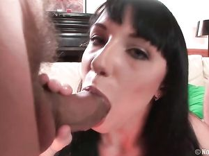 Two Big Dicks For A Pretty Slut To Suck On