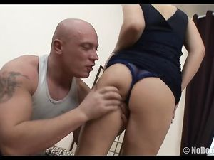 Big Tits Blonde Fondled And Rimmed By Her Man