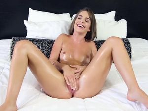 Kimmy Granger Oils Up And Fucks His Brains Out