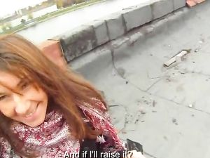 Slut On His Rooftop Bends Over For Hard Dick