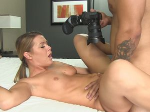 First Time Porn Slut Fucked By The Man With A Camera