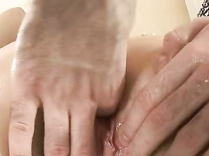 Fondled And Fingered Teen Fucked In Her Juicy Pussy