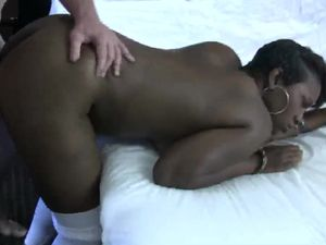 Big Beautiful Titties On A Hardcore Black Slut