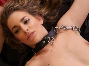 Kimmy Granger Worships Cock On A Leash