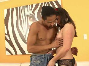 BBC Fucks Its Way Into Her Wet Latina Pussy