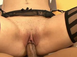 BBC Fucks Its Way Into Her Wet Latina Pussy