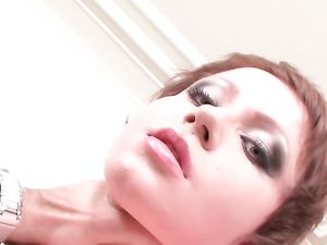 Messy Gagging Blowjob Makes Her Eye Makeup Run