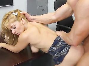 Student Doing Splits And Fucking Her Teacher