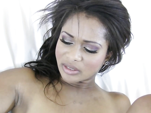 Black Teen Chick In Heels Fucked In His Hotel Room