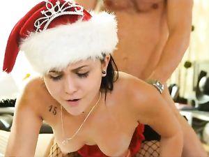 Christmas Beauty Ariana Marie Fucks Her Boyfriend