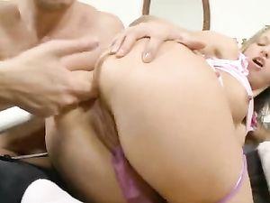 Fingering And Fucking Her Slutty Teenage Asshole