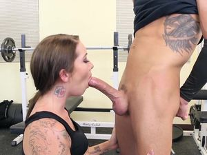 Workout Buddy Gets Fucked And Takes A Hot Load