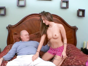 Grandpa Can Still Get Rock Hard For Young Pussy