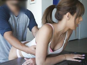 Sex With Young Whore In Doggy Style In Front Of The Camera